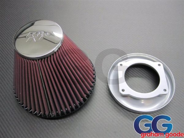 Impreza GGR Induction Kit Classic GC8 STi WRX 1996-2000 Trumpet & K&N Conical Air Filter GGS036